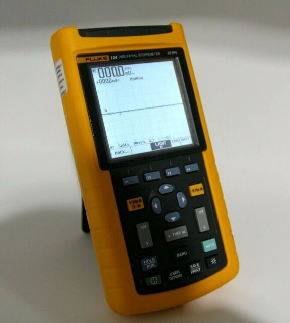 Fluke 124 Industrial Scope Meter Repair Services