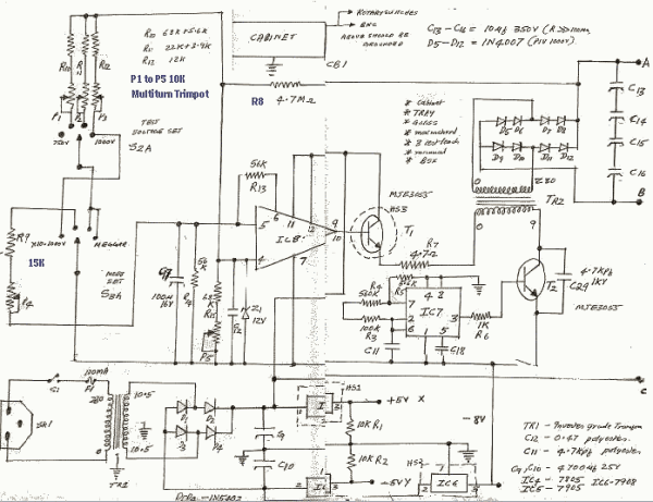 Fluke 1550C Insulation Tester Repair
