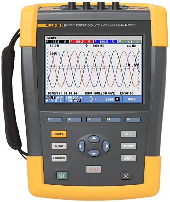 Fluke 434 Power Quality Analyzer Repair Services