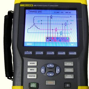 Fluke 435 Energy Analyzer Repair