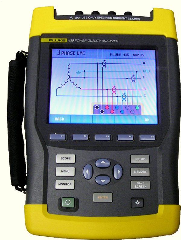 Fluke 435 Energy Analyzer Repair