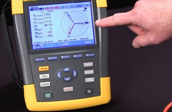 Fluke 438-II Power Analyzer Repair