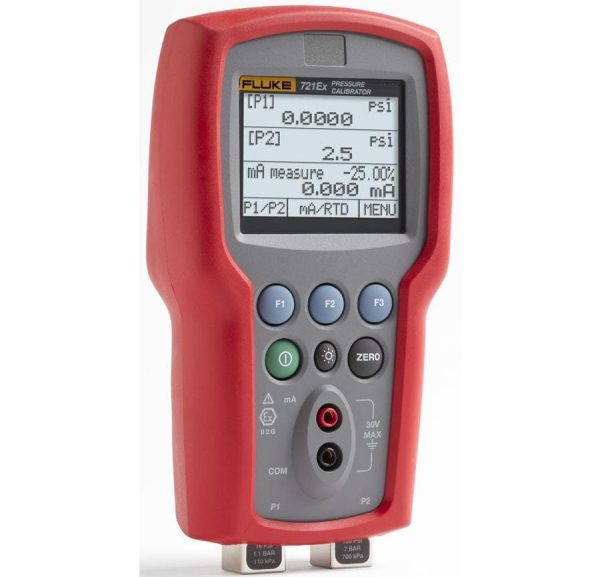 Fluke 721EX-3615 Pressure Calibrator Repair | Fluke Pressure Calibrator ISO-9000 Calibration