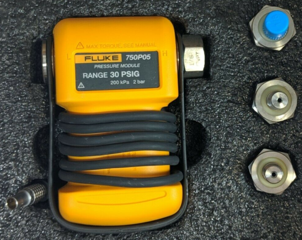 Fluke 750PD3 Pressure Module Repair & ISO Calibration
