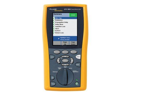 Fluke DTX-1800 Cable Analyzer Repair & Calibration Services