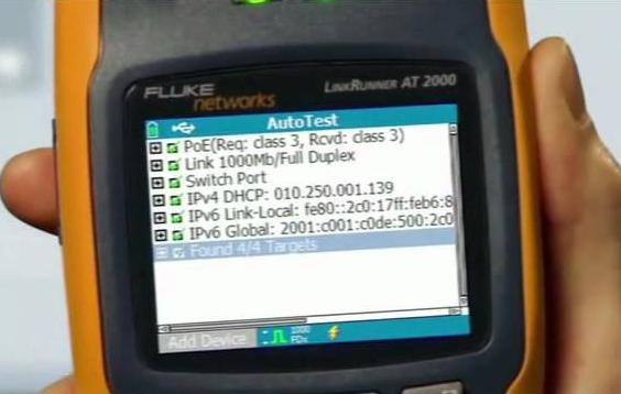 Fluke Linkrunner LRAT 2000 Repair